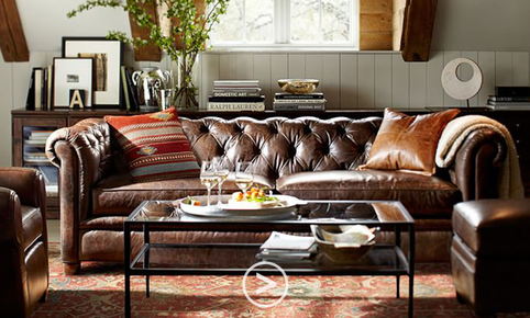 Want to buy a Chesterfield 3-seater sofa?